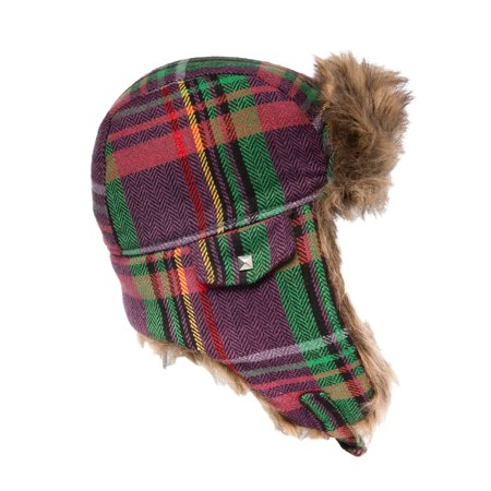 Capelli New York Winter Hat Womens Faux Fur Trapper Hat Warm Winter Hats For Women With Ear Flaps (Trappers Hat Women)
