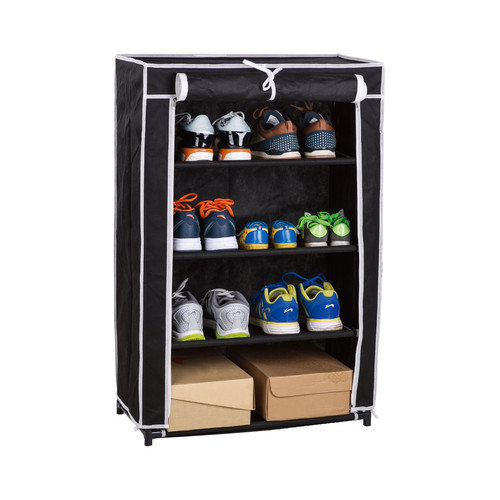 Above Edge Inc. 4 Tier Roll-Up Shoe Closet
