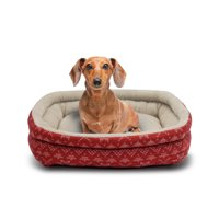 "Holiday Time Small Cuddler Pet Bed, 19""x15"""