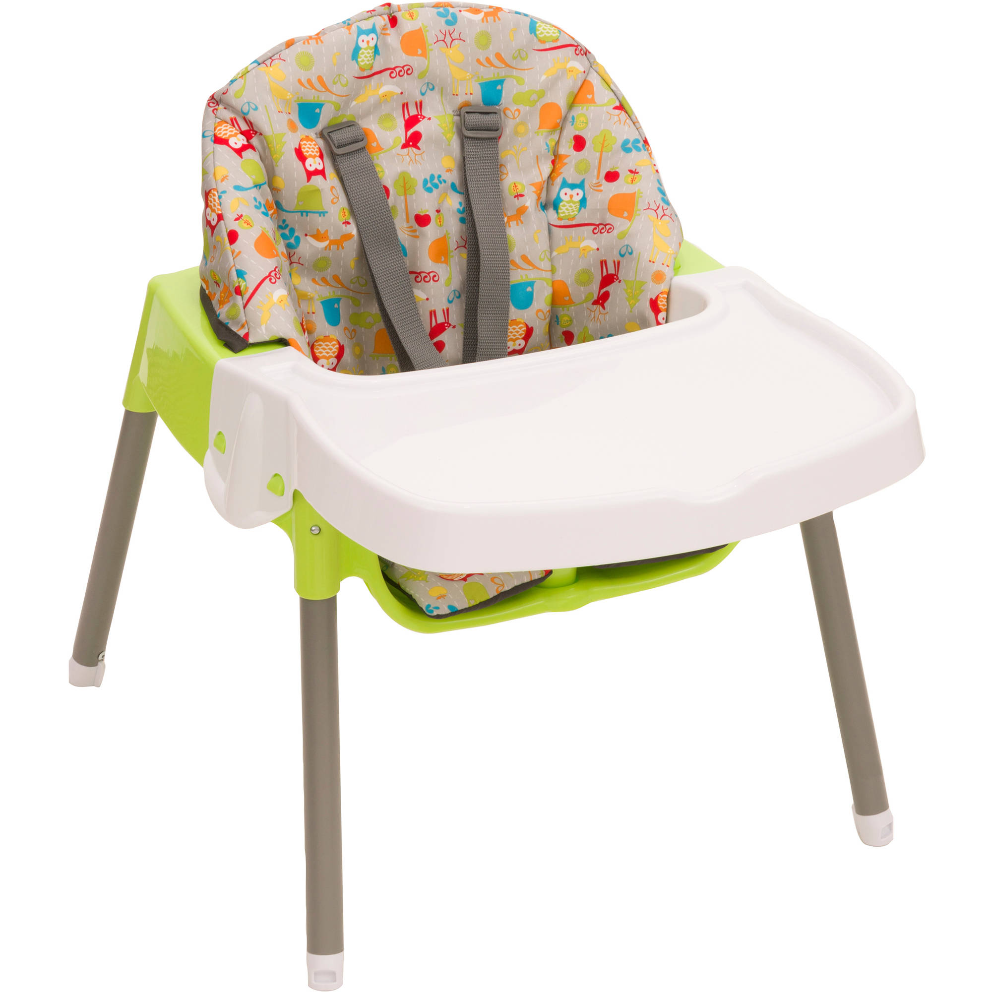 Generic Convertible 3n1 High Chair, Woodlandbudd   Walmart.com