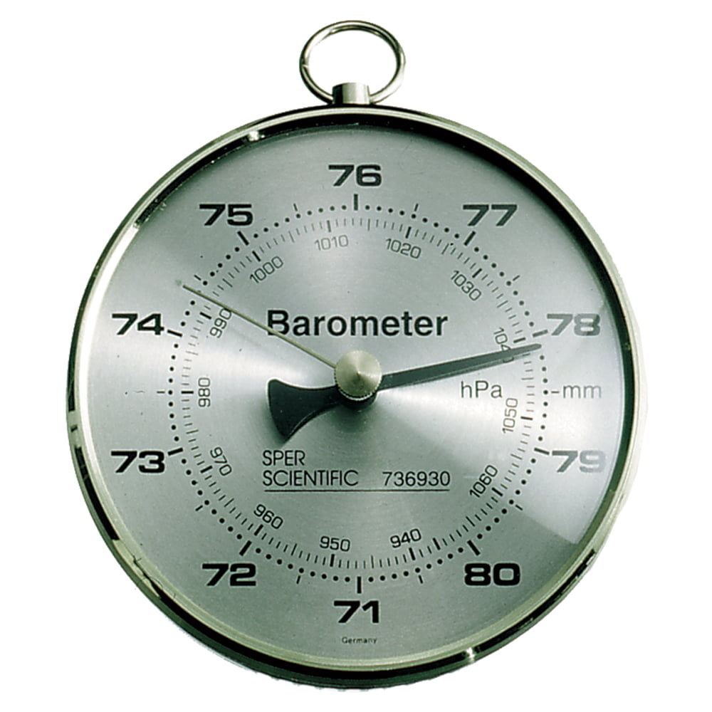 Dial Barometer by