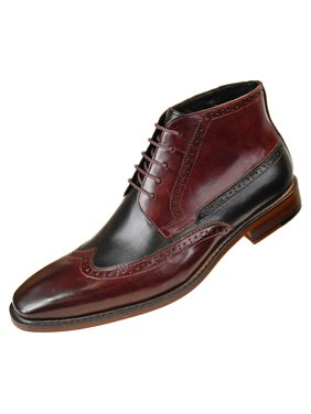 8a2e0d61812 Product Image Asher Green Mens Two Tone Genuine Calf Leather Wingtip  Spectator Oxford Dress Shoe