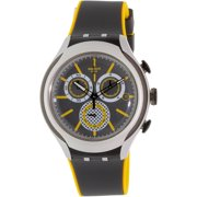 Swatch Men's Irony YYS4008 Grey Silicone Quartz Watch