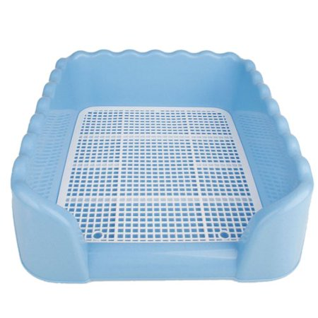 Xinlinke New Indoor Plastic Fence Large Pet Dog Puppy Potty Toilet Pee Training Tray Pad Size L -