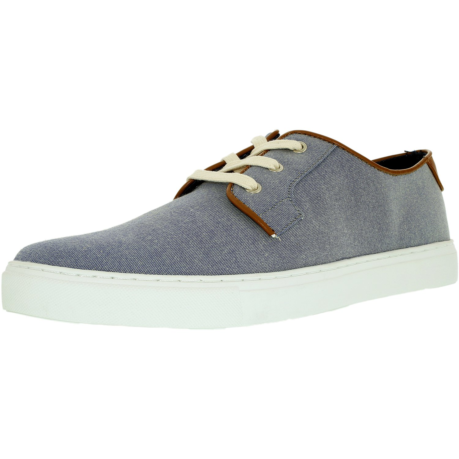 faaa08992452d Tommy Hilfiger Men s Mckenzie 2 Fabric Dark Grey Ankle-High Fashion Sneaker  - 8M