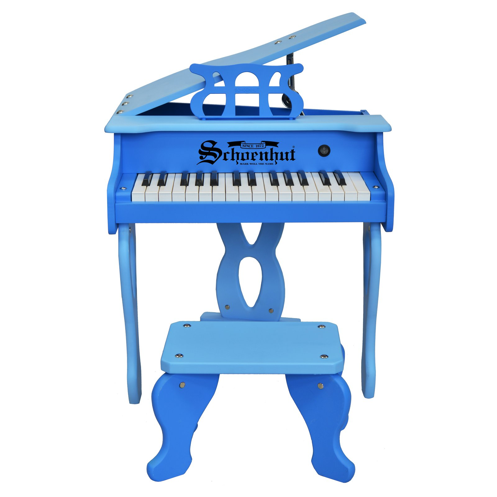 Schoenhut 30 Key Two Tone Digital Baby Grand Piano with Bench