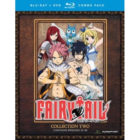 FAIRY TAIL-COLLECTION TWO (BLU-RAY/DVD COMBO/4 DISC) (Blu-ray) - Fairies Movies For Kids