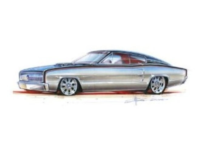 Revell 67 Dodge Charger 426 Hemi Plastic Model Kit by Revell