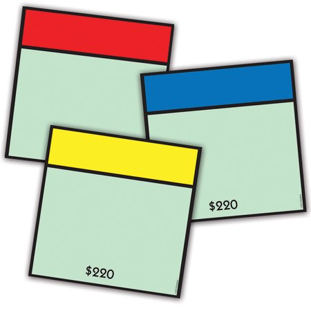 MONOPOLY ASST PAPER CUT OUTS (Bat Cut Outs)