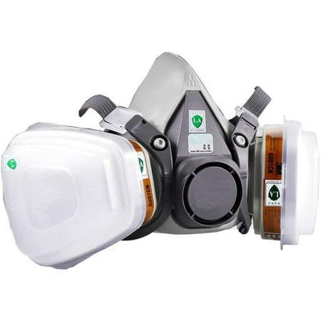 1pcs Gas Proof Active Carbon Mask - image 5 de 7