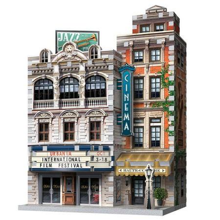 Wrebbit 3D Urbania Cinema 3-D Jigsaw Puzzle