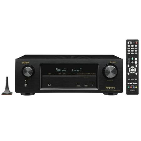 Denon AVR-X1400H 7.2-Channel Full 4K Ultra HD Network AV Receiver with