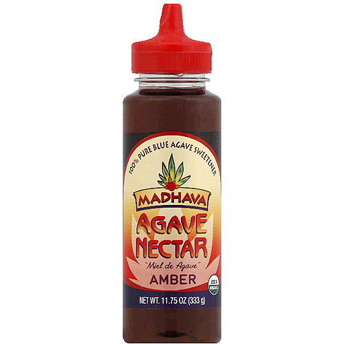 Madhava Amber Agave Nectar, 11.75 oz, (Pack of 6)