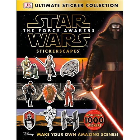 Ultimate Sticker Collection: Star Wars: The Force Awakens Stickerscapes : Make Your Own Amazing (Oakley Make Your Own)