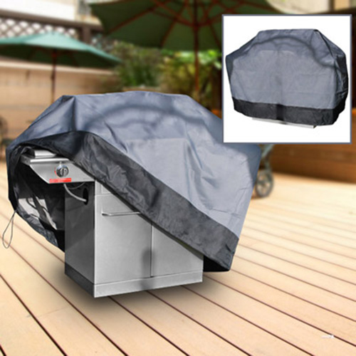 "Durable Barbeque Gas Propane Grill Cover Gray Medium 59"" Length"