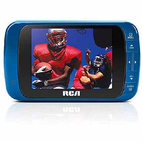 RCA DHT235A 3.5 Inch Portable LED HDTV, Silver, REd (Refurbished)