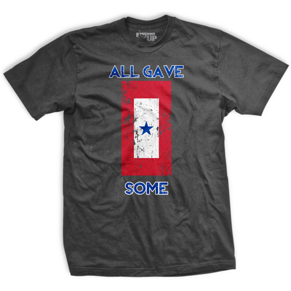 Ranger Up Some Gave All T-Shirt - Gray