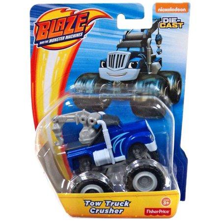 Blaze & the Monster Machines Nickelodeon Tow Truck Crusher Diecast Car - Halloween Tow Truck