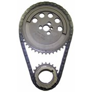 Cloyes 9-3158A Hex-A-Just True Roller Timing Kit; Incl. Machined Cam Sprocket/1 Keyway Crank Sprocket/0.50 in. Pitch True Roller Chain; Single Roller; 3 Bolt Cam;
