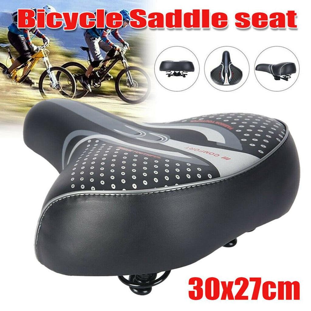 Comfort Extra Wide Big Bum Bike Bicycle Men Women Soft Pad Saddle Seat Cushion