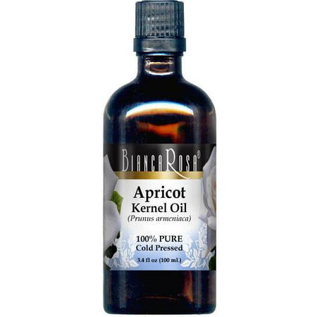 Apricot Kernel Oil - 100% Pure, Cold Pressed (3.40 fl oz, ZIN: 428355)