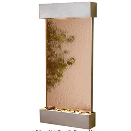 Adagio WCS4541 Whispering Creek - Bronze Mirror Wall (Mirror Wall Fountain)