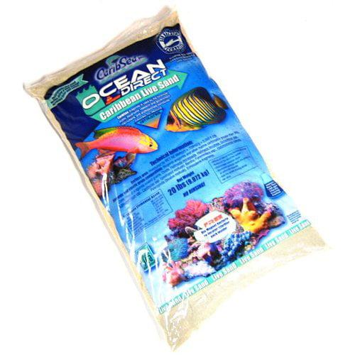 CaribSea Ocean Direct Original Grade Live Sand 20 lbs