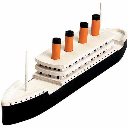 Wood Model Kit  Titanic