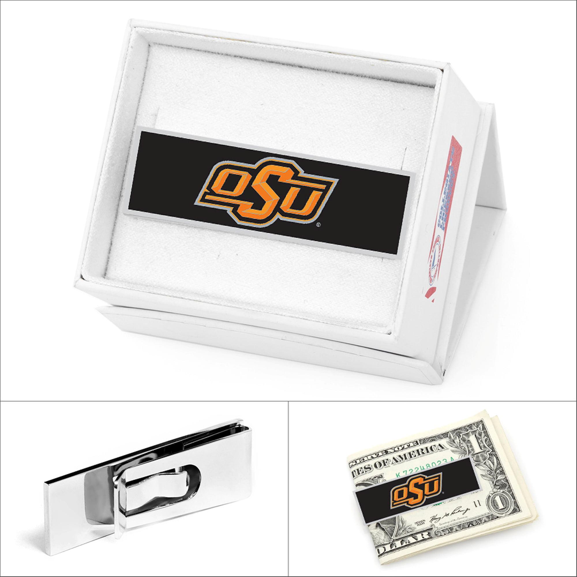 NCAA Mens NCAA Oklahoma State Cowboys Money Clip with Gift Box PD-OKST-MC NEW
