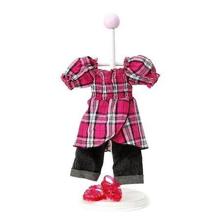 Madame Alexander Mop Top (Madame Alexander Plaid Top Outfit, Pink )