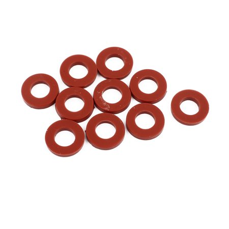 10pcs 19mm x 10mm x 3mm O-Ring Hose Gasket Silicone Washer for Water Heater