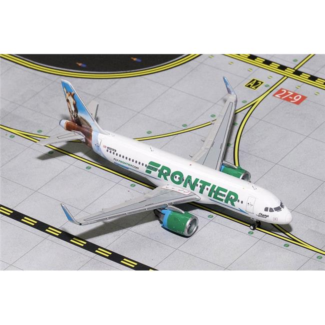 Gemini Jets 1-400 GJ1617 Frontier Airlines Airbus A320neo 1-400 Model Airplane