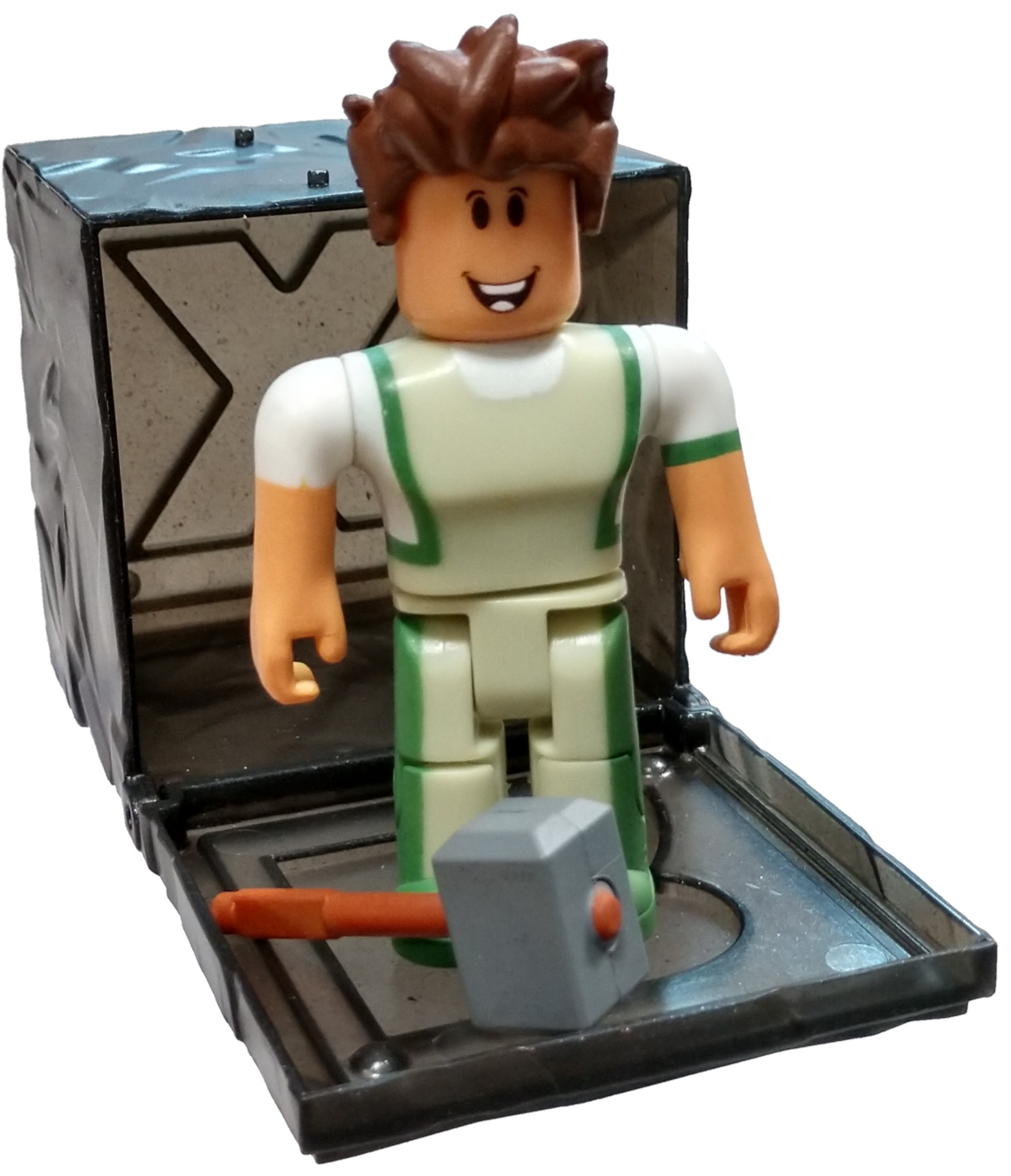 Roblox Series 7 Two Player Kingdom Tycoon Blacksmith Mini Figure