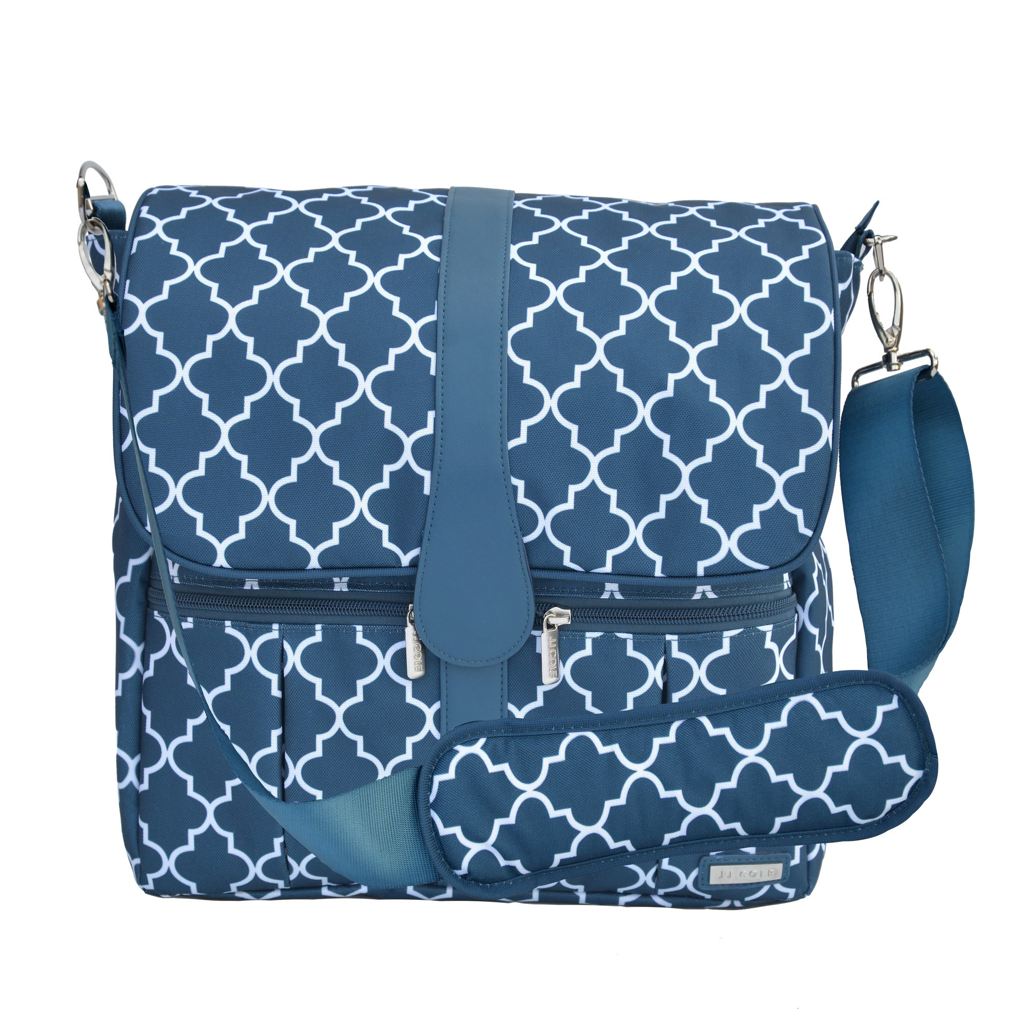 JJ COLE Backpack Diaper Bag - Navy Arbor