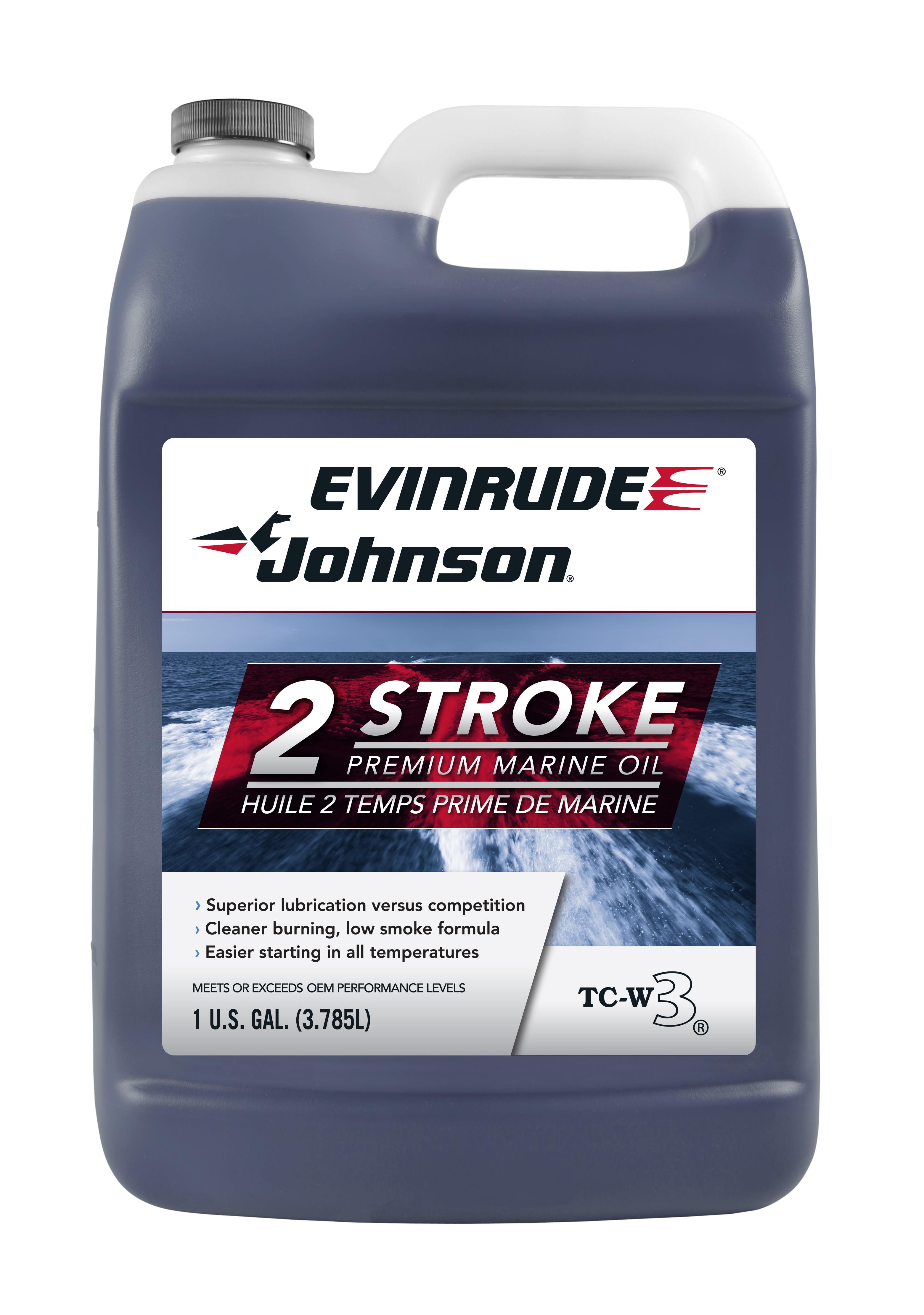 Evinrude/Johnson 2 Cycle Marine Oil - Walmart.com - Walmart.com