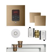 Butler Package 2 Square Brushed Bronze