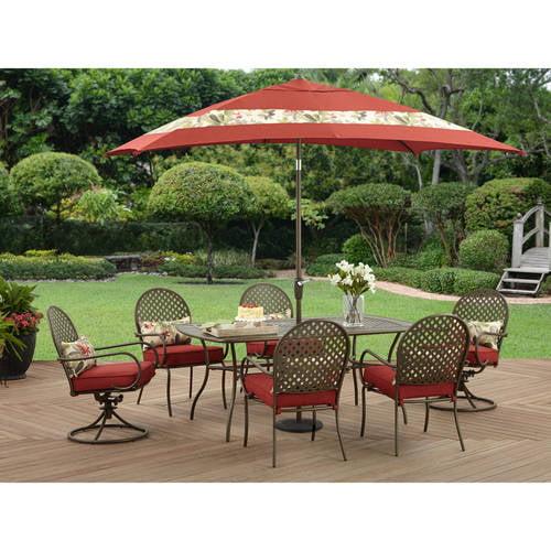 Better Homes and Gardens Sarona 7pc Dining Set Walmartcom