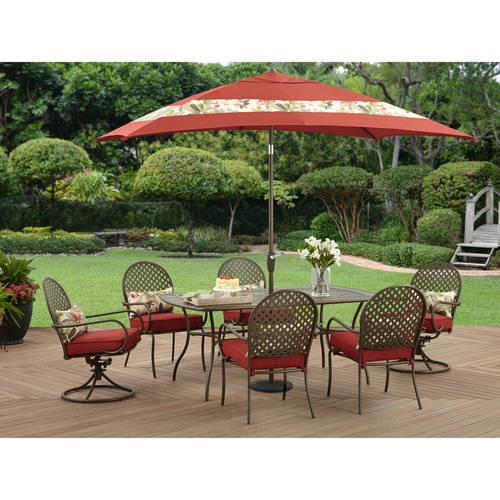 Better Homes And Gardens Sarona 7pc Dining Set Walmart Com