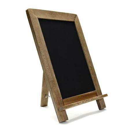 VersaChalk Wood Framed Standing Chalkboard Sign, 13