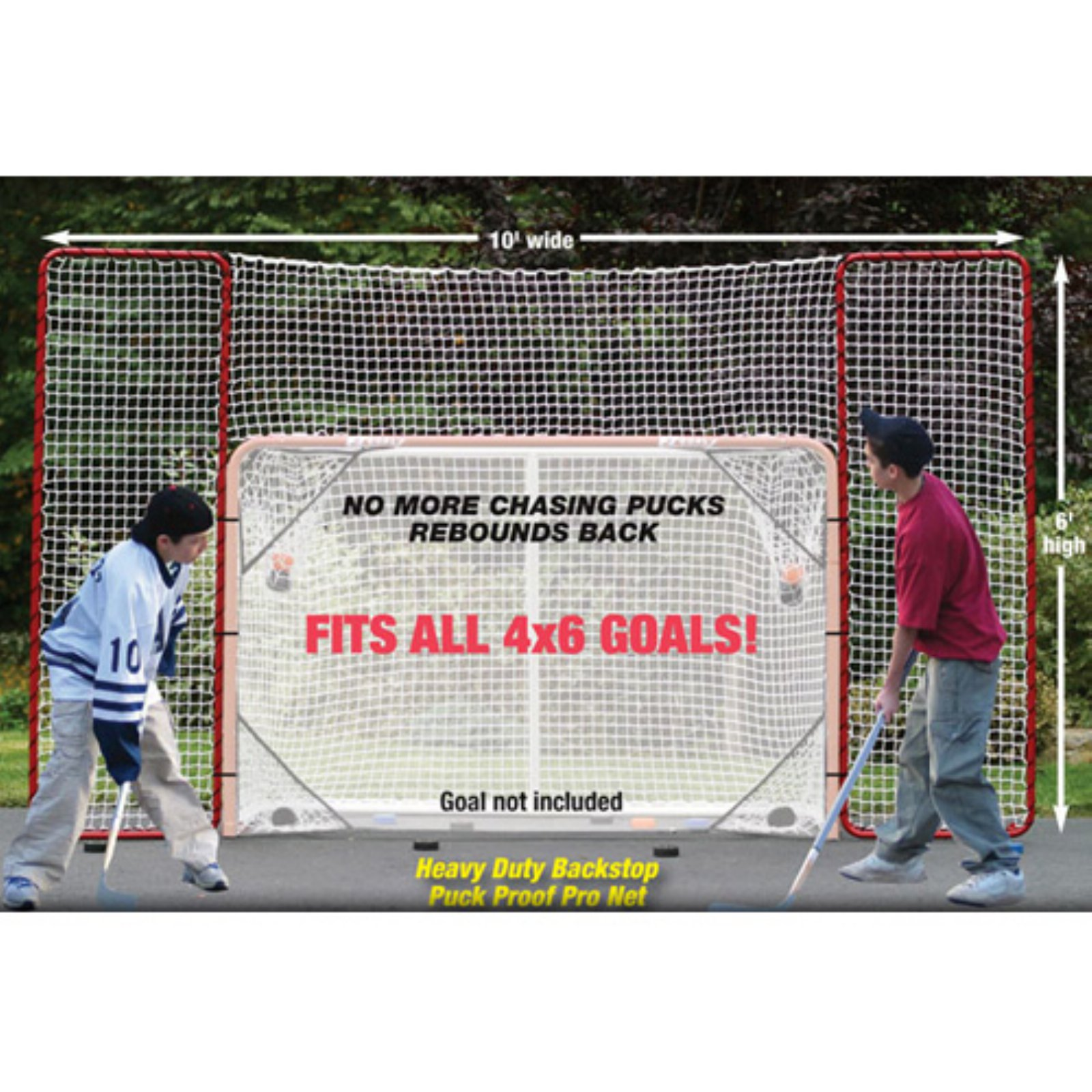 EZ Goal 10 x 6 ft. Hockey Backstop by EZ Goal