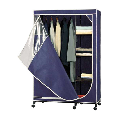 Organize It All Storage Wardrobe 64'' H x 45.5'' W x 20'' D Armoire