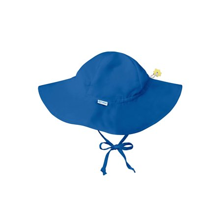 d85c7366351aa Iplay Brim Sun Hat for Toddler Boys Sun Protection Wide Brimmed Hat- Solid  Royal Blue - 2-4 Years (2T-4T) Baby Boy Hat Is Adjustable To Fit Outdoor Hat  With ...