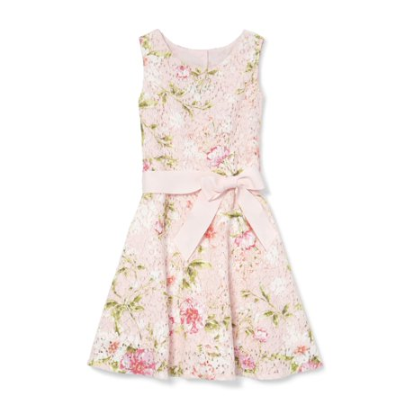 Floral Printed Lace Easter Dress (Little Girls & Big Girls) (Easter Girls Dresses)