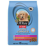 Ol` Roy Puppy Complete Dry Dog Food, 15 Lb