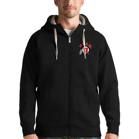 Utah Utes Antigua Victory Full-Zip Hoodie - Black](Costume Shops In Utah)