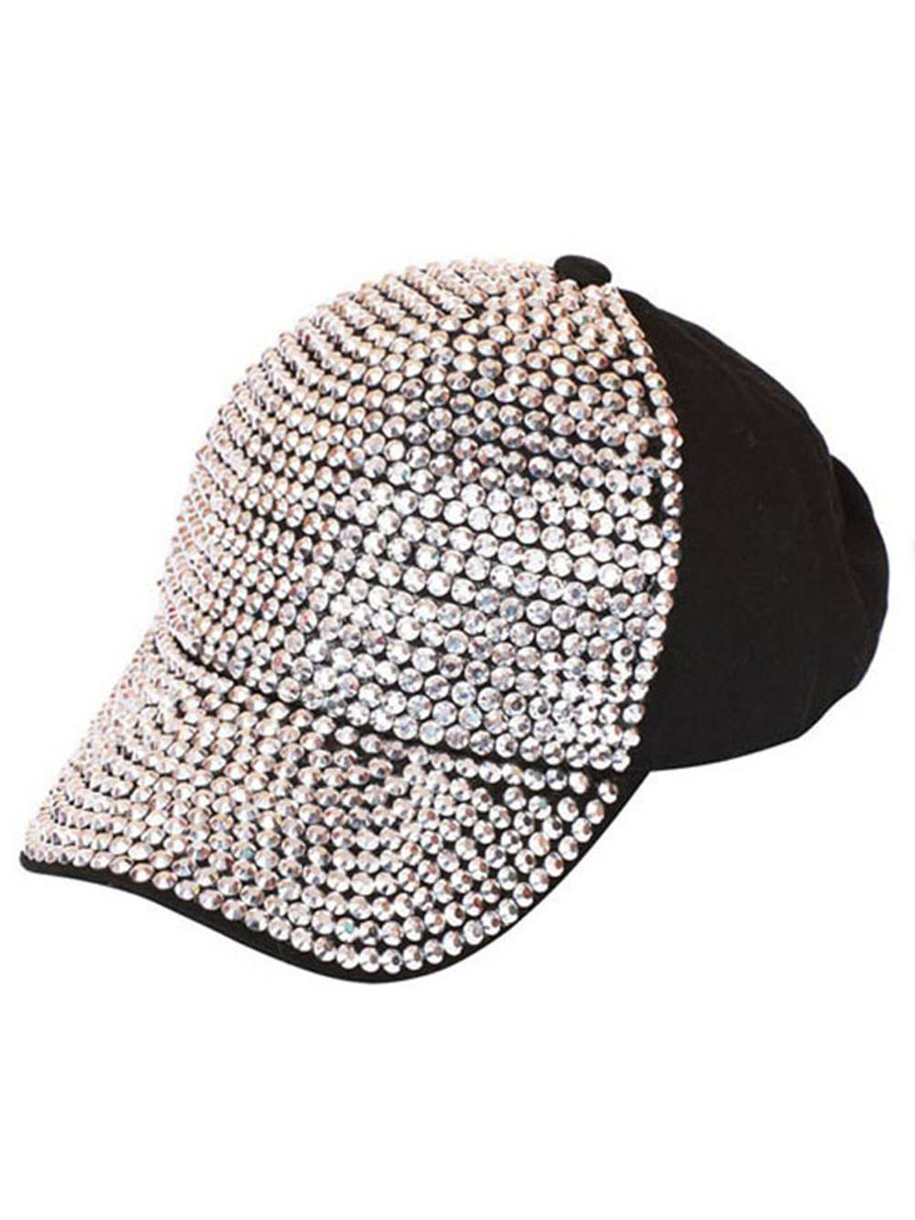 Studded Baseball Cap - Black 342bb8426b7