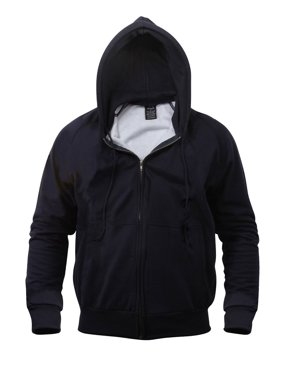 Product Image Thermal Lined Zipper Hooded Sweatshirt 51bbfbb3610