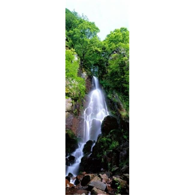 Waterfall Alsace France Poster Print by  - 12 x 36 - image 1 de 1