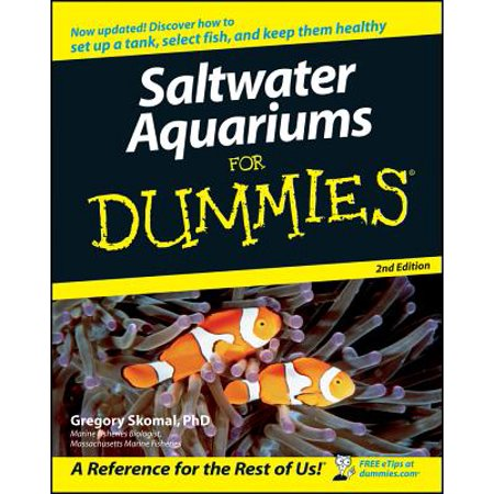Cap Salt - Saltwater Aquariums for Dummies