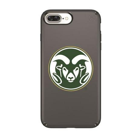 Speck IPH-87P-BK-PRE-CSU-D101 Black Presidio Case with Colorado State Rams Primary Mark Design for iPhone 8 Plus, iPhone 7 Plus, iPhone 6 Plus, iPhone 6s Plus - image 1 of 1